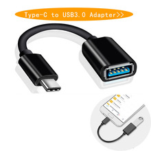 Cable Data-Cord-Adapter OTG Female Type-C Usb-3.0 To 16CM