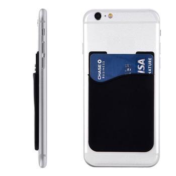 Do uniwersalnego telefonu etui na karty samoprzylepne naklejki etui na karty kredytowe pokrowiec etui na karty do telefonu samoprzylepna naklejka na uniwersalny tanie i dobre opinie CN (pochodzenie) Sticker Card Pouch Częściowe dekoracji none Black silicone 1 x Sticker Card Pouch