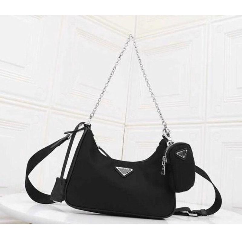 Luxus marke schulter tasche 2019 frauen mode designer handtaschen hohe qualität umhängetaschen Ketten leinwand totes freies verschiffen