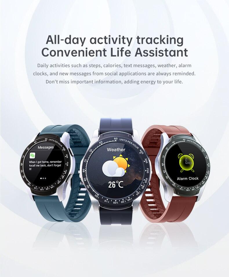 mulheres dos homens smartwatch monitor de freqüência