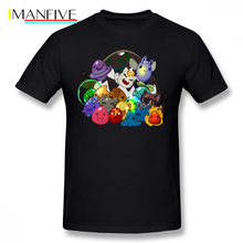 Slime Rancher T Shirt T-Shirt 100 Cotton Plus size Tee Funny Fashion Short Sleeves Graphic Male Tshirt