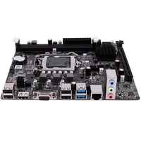 B75 LGA 1155 데스크탑 컴퓨터 메인 보드 (SATA II USB3.0/2.0 PCI-E X16 16G DDR3 1600 마더 보드 포함)
