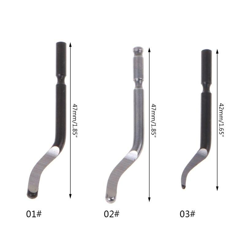 10 шт. быстрое стальное поворотное лезвие BS1010 BS1018 BK3010 лезвие пластиковое медное алюминиевое Угловое устройство для удаления заусенцев обраб...