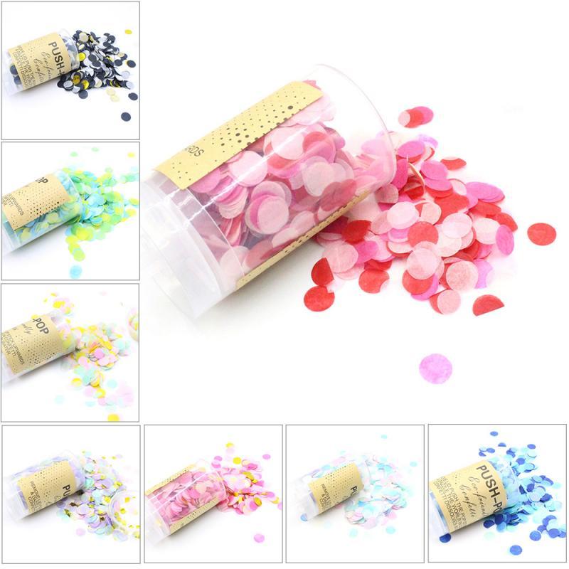 1 коробка свадебные конфетти сушеные лепестки роз поп биоразлагаемые лепестки Мини Круглые Конфетти для свадьбы и вечеринки украшения|Флажки, вымпелы и конфетти|   | АлиЭкспресс