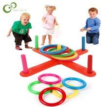 2020 novo anel de argola lance anel plástico toss quoits jardim jogo piscina brinquedo diversão ao ar livre conjunto brinquedos para crianças presente zxh