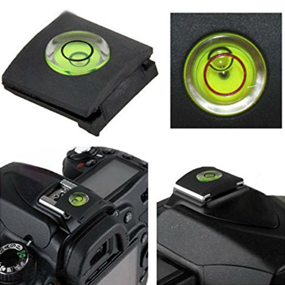 Shoe-Protective-Cover-Cap Camera-Accessories Flash Bubble-Spirit-Level DSLR Nikon Fuji