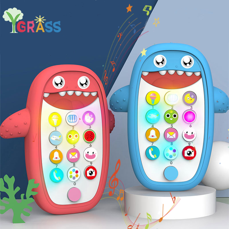 Baby Phone Toy Kids Smart Screen Mobile Phone Children Puzzle Early Education Telephone Music Toy