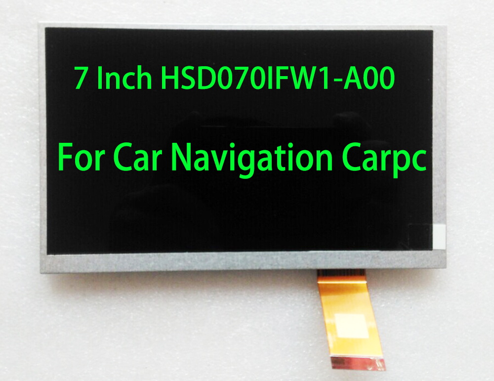 7inch Car Navigation Universal  LCD 40pin 1024*600 With Capacitive Touch Screen NEW  165*100mm