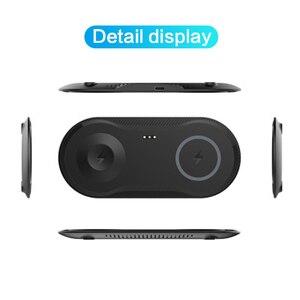 Image 5 - 2 Trong 1 Wirless Sạc Nhanh Miếng Lót Cho Samsung S9 S8 S10 Plus Note 7 8 iPhone 11 X Di Động sạc Không Dây Qi Cho IWatch 4 3 2 1