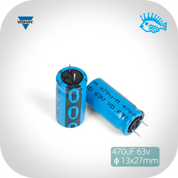 2//10pcs 6800uF 63V Vishay BC 058 PHILIPS Filter Electrolytic Capacitor 25x50mm