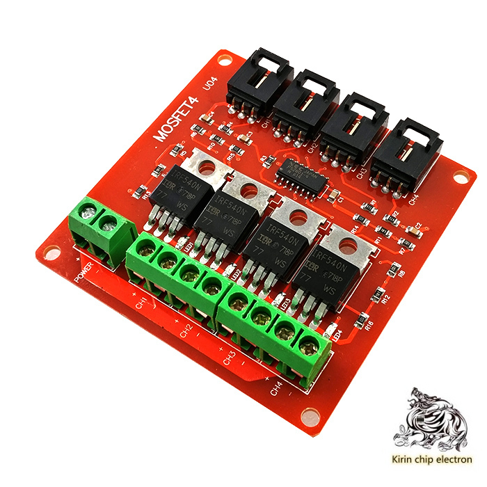 5pcs / Lot Electronic Building Block 4-way Switch MOSFET Switch Irf540 Isolated Power Module
