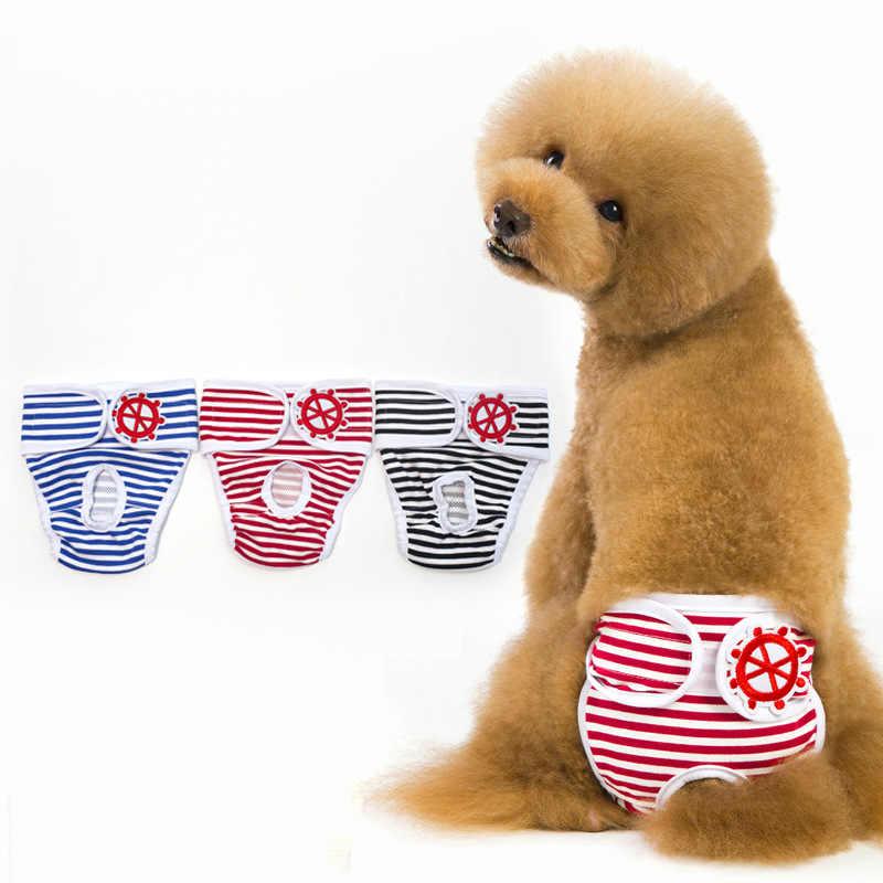 19 yeni stil köpek Menstrual külot güvenlik şort Golden Retriever kaniş Knicker kadın köpek teyze pantolon anti-taciz şerit