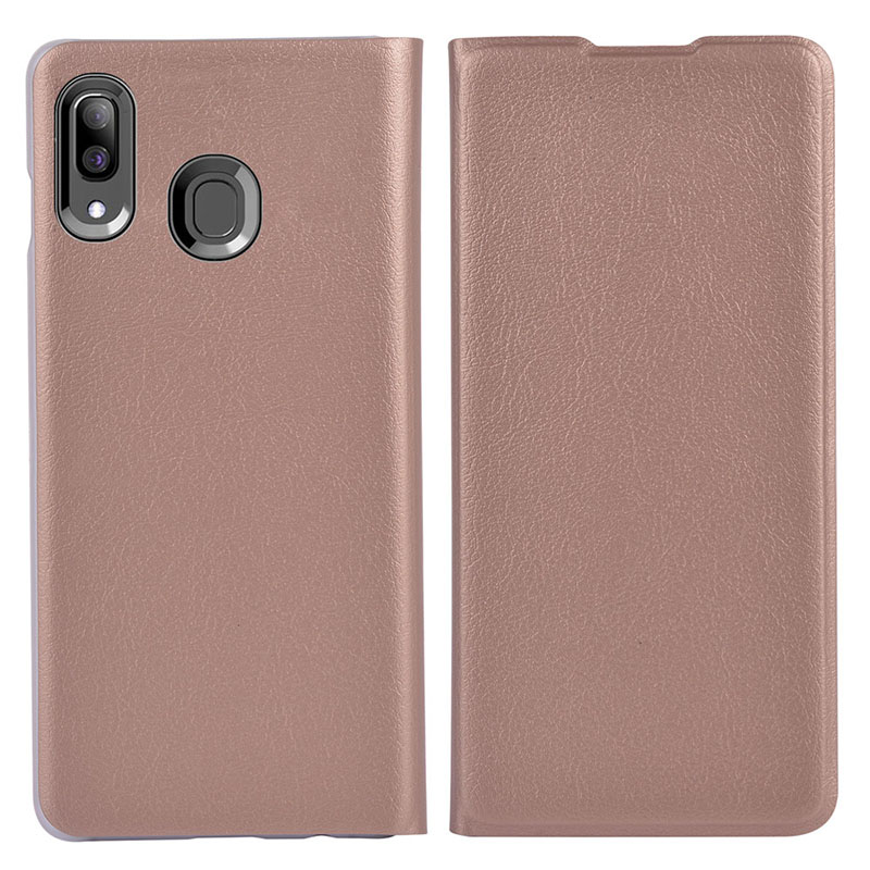 Asuwish Flip Case Leather Cover For Samsung Galaxy A30 A 30 2019 SM A305 A305F A305FN SM-A305F SM-A305FN DS Wallet Phone Case