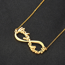 Personalize Name Necklace Women Wedding Jewelry Silver Gold Not Fading Color