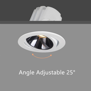 Image 4 - [DBF]2020 Neue Hohe CRI≥ 90 Anti Glare LED COB Einbau downlight 7W 12W Winkel einstellbar Decke Spot Lichter Küche Wohnzimmer