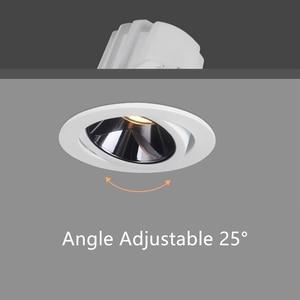 Image 4 - DBF Spot lumineux encastrable encastrable pour le plafond, lumière Anti éblouissement 90, avec technologie COB 2020, Angle réglable, idéal pour un salon, une cuisine, un nouveau modèle de LED, 7/12W
