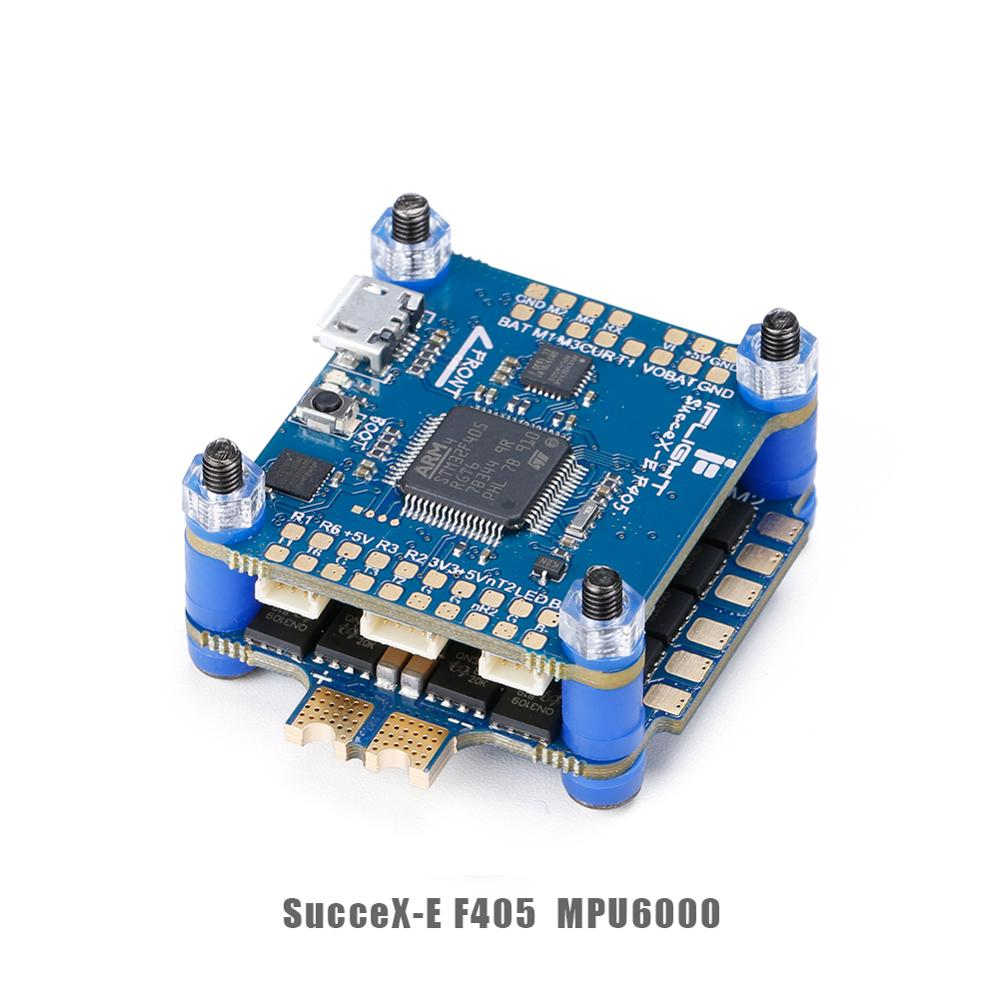 IFlight SucceX-E F4 Flight Controller STACK MPU6000 SucceX-E 45A 2-6S BLHeli_S Dshot600 4-in-1 ESC FlyTower System For FPV Drone