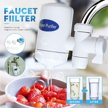 Warmtoo Tap Water Purifier Faucet Washable Ceramic Percolator Mini Water Filter Filtro Rust Bacteria Removal Replacement Filter