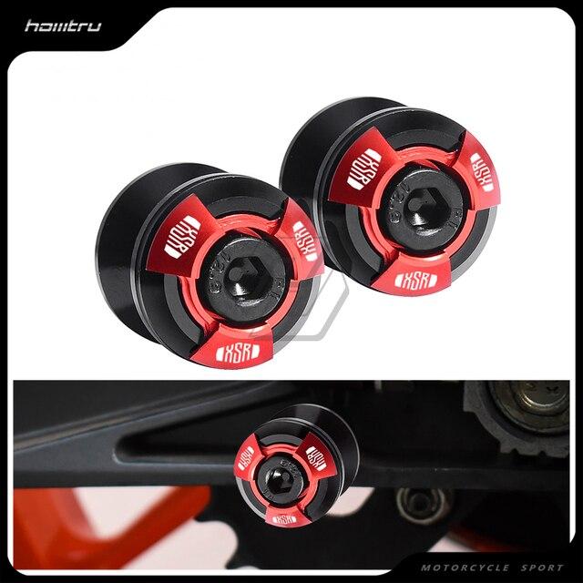รถจักรยานยนต์อุปกรณ์เสริม Spools Slider สกรูขาตั้งสกรูสำหรับ Yamaha XSR700 XSR900 XSR 700 900