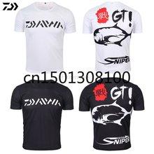 Рубашка daiwa dawa 2020 одежда для рыбалки летняя ультратонкая
