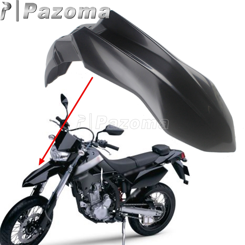 Motorcycle Enduro Off Road Front Fender Mudguard Fairing For Kawasaki KLX250 08-19 KLX250S D-Tracker X 250 09-19 KLX250SF 09-10