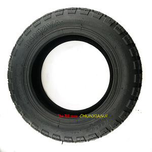 Image 2 - 번개 선적 전기 스쿠터 90/65 6.5 크로스 컨트리 타이어에 대 한 슈퍼 품질 11 인치 공 압 타이어