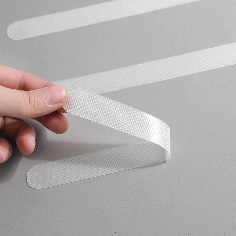 12x Anti Slip Bath Grip Stickers Non Slip Shower Strips Pad Floor Safety Tape N