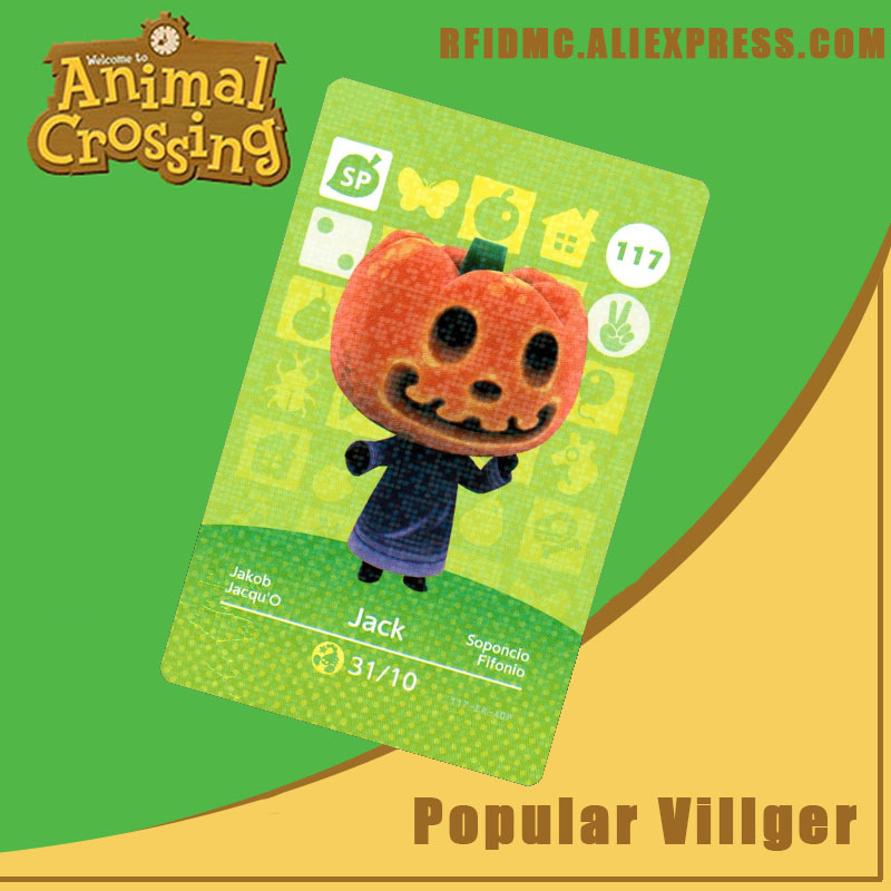 117 Jack Animal Crossing Card Amiibo For New Horizons