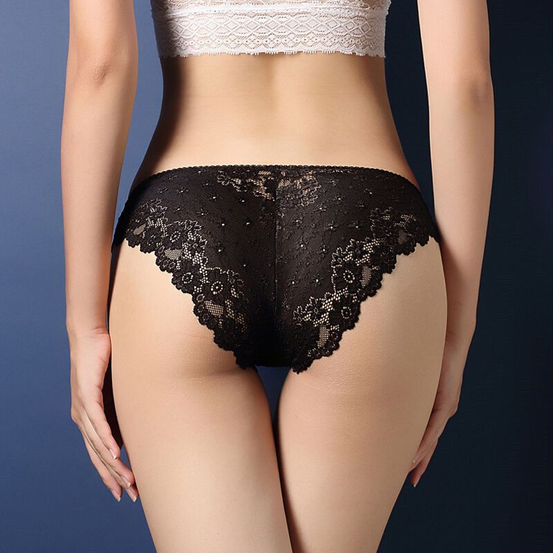 Plus Size Women's Sexy Thongs Underwear Female Baby Doll Erotic Lingerie G String Sexy Lace Transparent Panties For Sex S-5XL