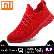 Xiaomi New Sneakers Men Light Running Shoes Breathable Joggi