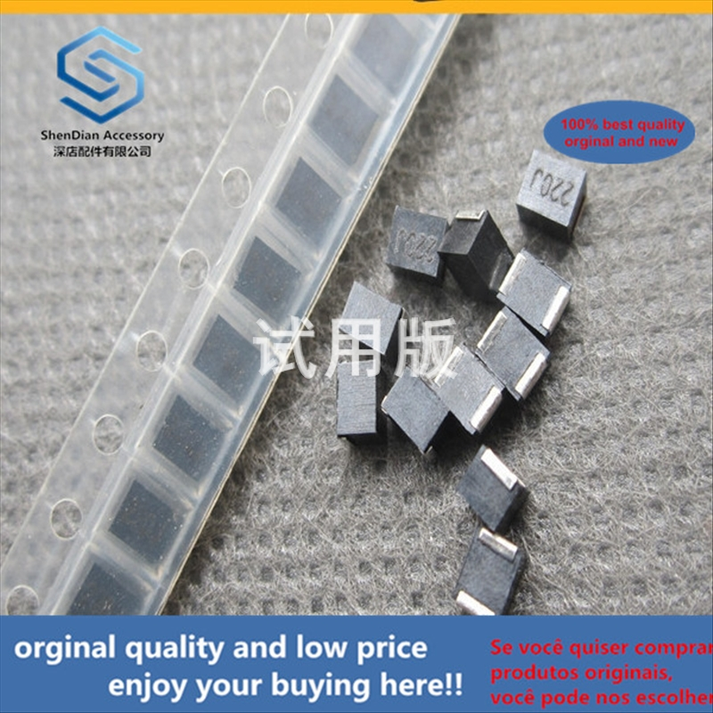 50pcs 100% Orginal New Best Quality Wire Wound Inductor 1210 22uH 5% NLV32T-220J-PF Plastic Sealed Inductor Silk Screen: 220