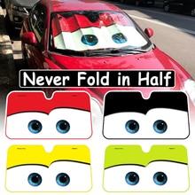 4 farbe Nette Cartoon Augen Auto Windschutzscheibe Sonnenschirm Auto Fenster Windschutz Abdeckung Sonnenschutz Auto deckt Auto Solar Schutz