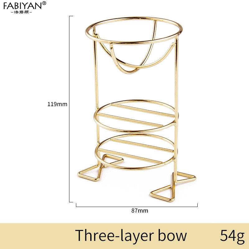 Gold Three-layer bow