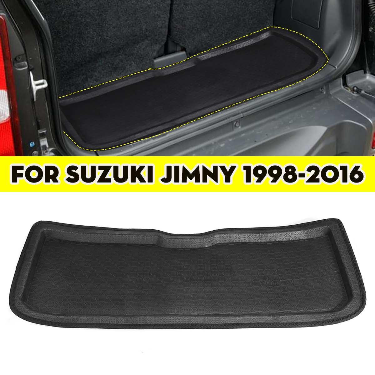 Car Cargo Liner Boot Tray Rear Trunk Cover Matt Mat Floor Carpet Kick Pad For BuickEncore For SUZUKI JIMNY 1998 1999 2000 - 2016
