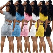 2020 mulheres verão elegante mini vestido de cintura alta cruz aberto para trás empilhados ruched midi bodycon noite clube vestidos festa