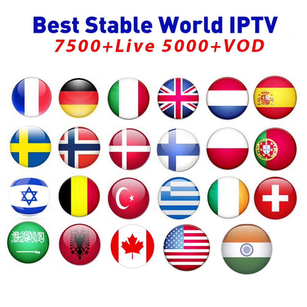 Europe Iptv Subscription Italian French Polish Belgium Turkish Canada Portugal UK Iptv Code Without Hot Club Xxx Iptv For Tv Box
