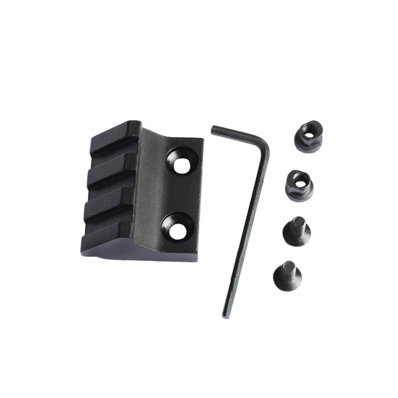 Key Mod Rail Keymod-Accessories Offset Mount Hunting-Part Aluminum-Alloy Tactical 45-Degree