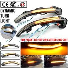 Superb LED Blinker Dynamic Turn Signal Light Side Rear-View Mirror Light For Volkswagen For VW Passat B8 2015-2020 For Arteon
