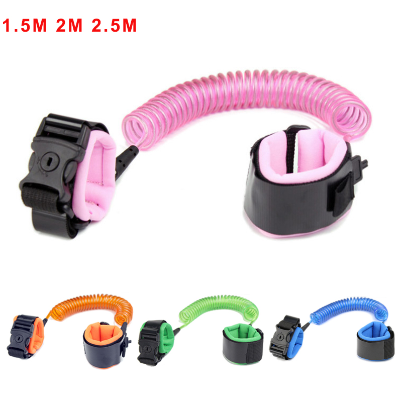 Children Baby Safety Walking Harness Anti Lost Adjustable Traction Rope Reminder Toddler Wristband Walk Assistant Belt