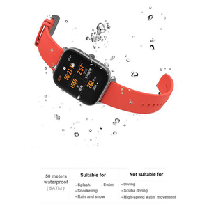 Image 3 - Global Version Amazfit GTS Smart Watch 5ATM Waterproof Swimming Smartwatch 14Days Battery Music Control for IOS Phone