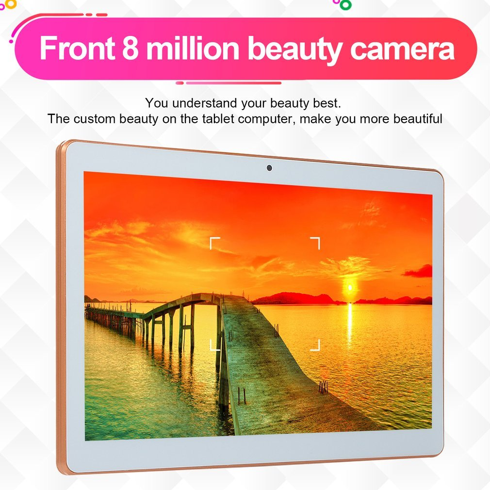 2019 10 pouces tablette PC 3G 4G LTE Android 8.1 10 Core métal tablettes 8GB RAM 128GB ROM WiFi GPS 10.1 tablette IPS WPS CP9 - 4