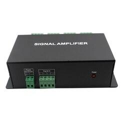 HC800 DC12V 24V 8 kanałów SPI TTL sygnał synchronizator wzmacniacz LED 8CH 8 portów wyjście na kolor marzeń pixel led strip light