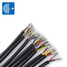 Triumph câble Fil Audio UL2464 2/5/10M Fil Gainé Câble 28 26 24 22 20 18 16 AWG Cuivre Câble de Signal 2 3 4 5 6 7 8 10 Noyau