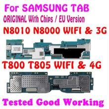 100% 三星銀河 (注) 10.1 N8000 N8010マザーボード三星銀河タブs T800 T805ロジックボードチップメガバイト