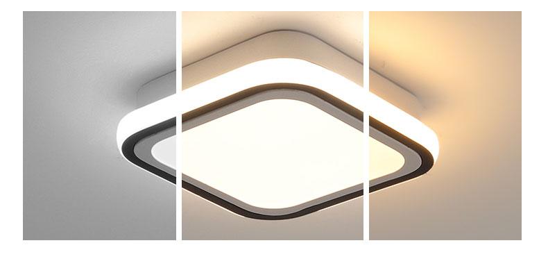 Lustre moderno para teto 110v 220v, acessório