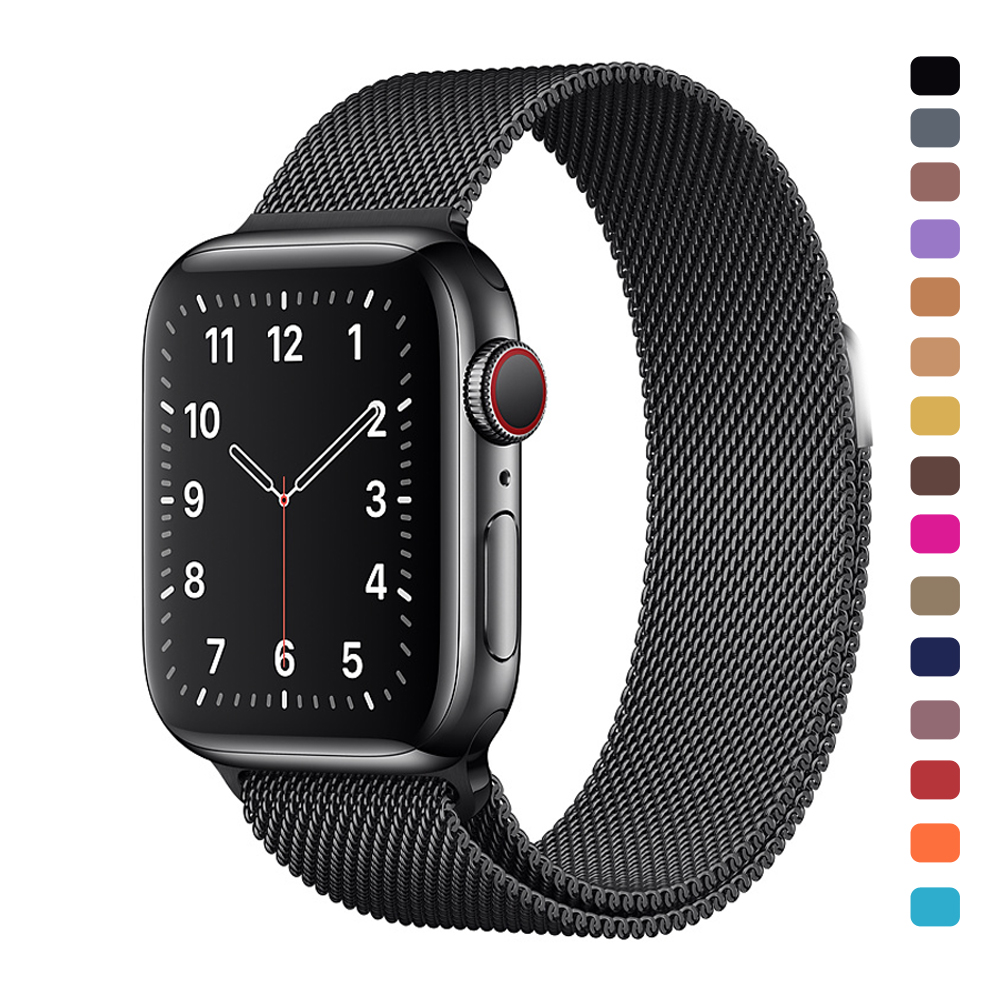 Milanese Loop Stainless Steel Band For Apple Watch Series 1 2 3 4 5 42mm 38mm Metal Bracelet Strap For Iwatch Band 4 5 40mm 44mm