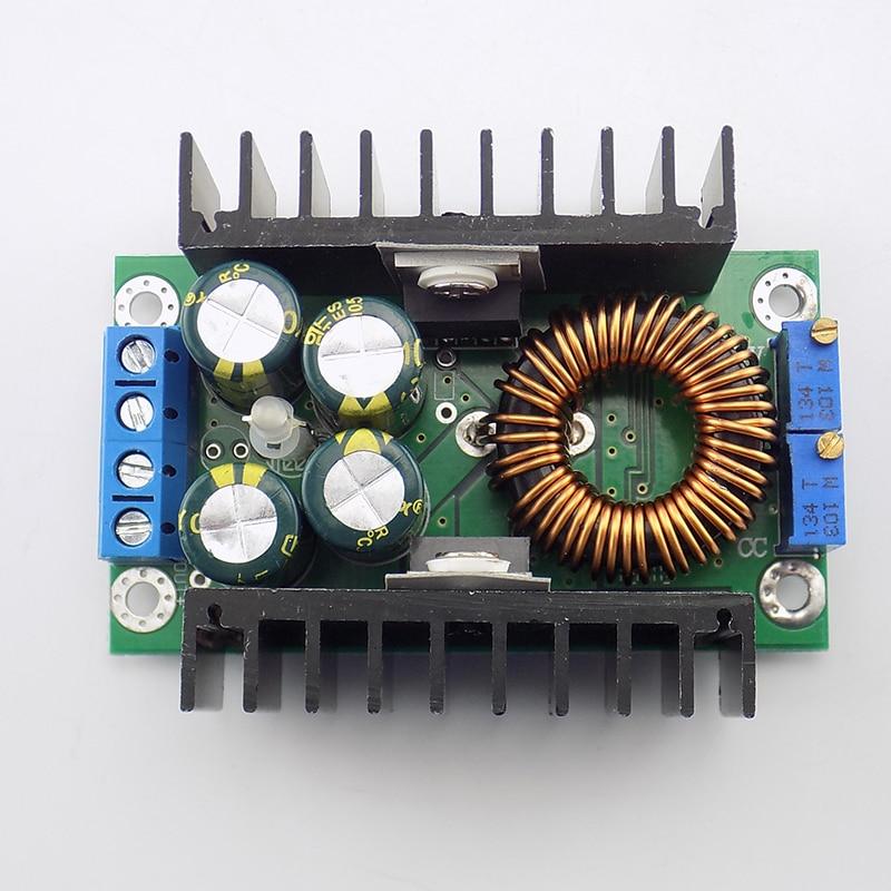 DC-DC Power supply Module LED Indicator CC CV Buck Converter Step-down 7-32V to 0.8-28V 12A 300W Module Board Voltage regulator
