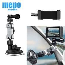 Mini caméra daction pour GoPro Hero 9 8 7 5 Black SJCAM SJ8 Yi 4K H9r Go Pro, ventouse de verre de fenêtre de montage, accessoires