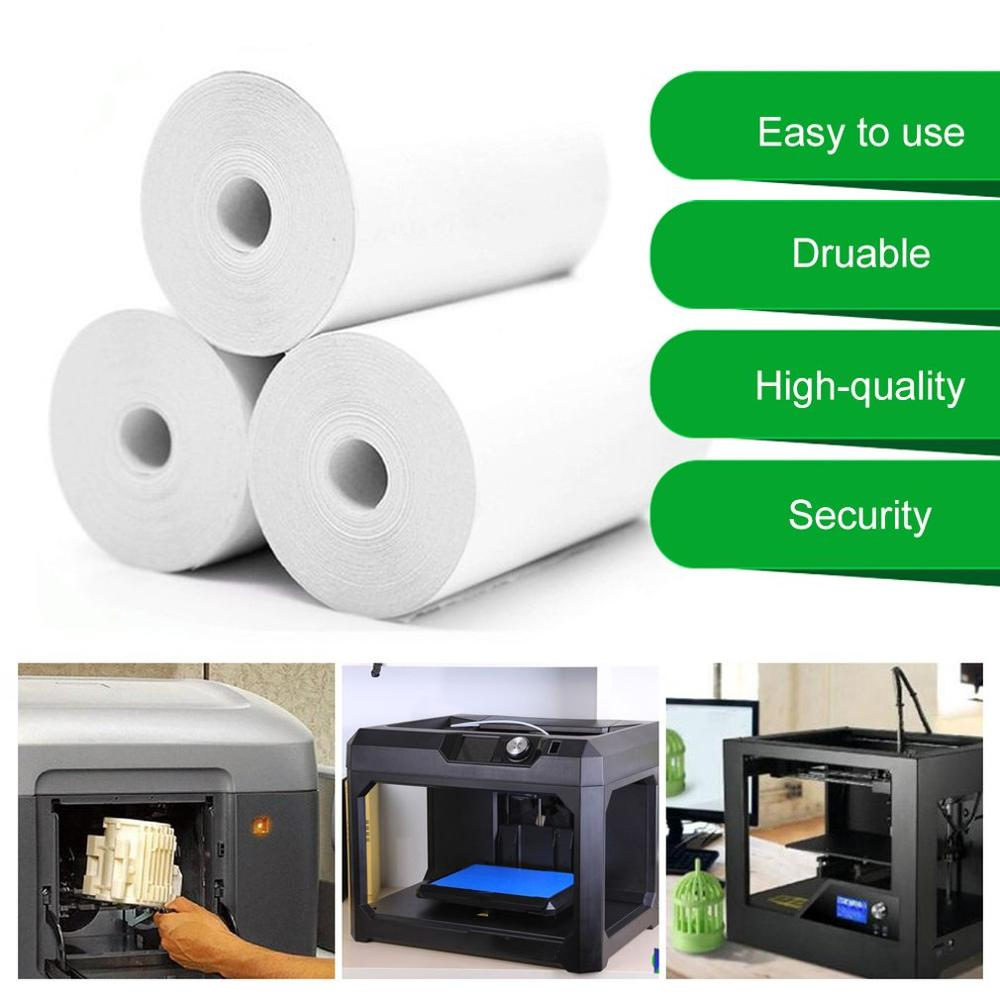 5 Rolls Printable Sticker Paper Roll Direct Thermal Paper With Self-adhesive 57*30mm For PeriPage A6 Pocket PAPERANG P1/P2