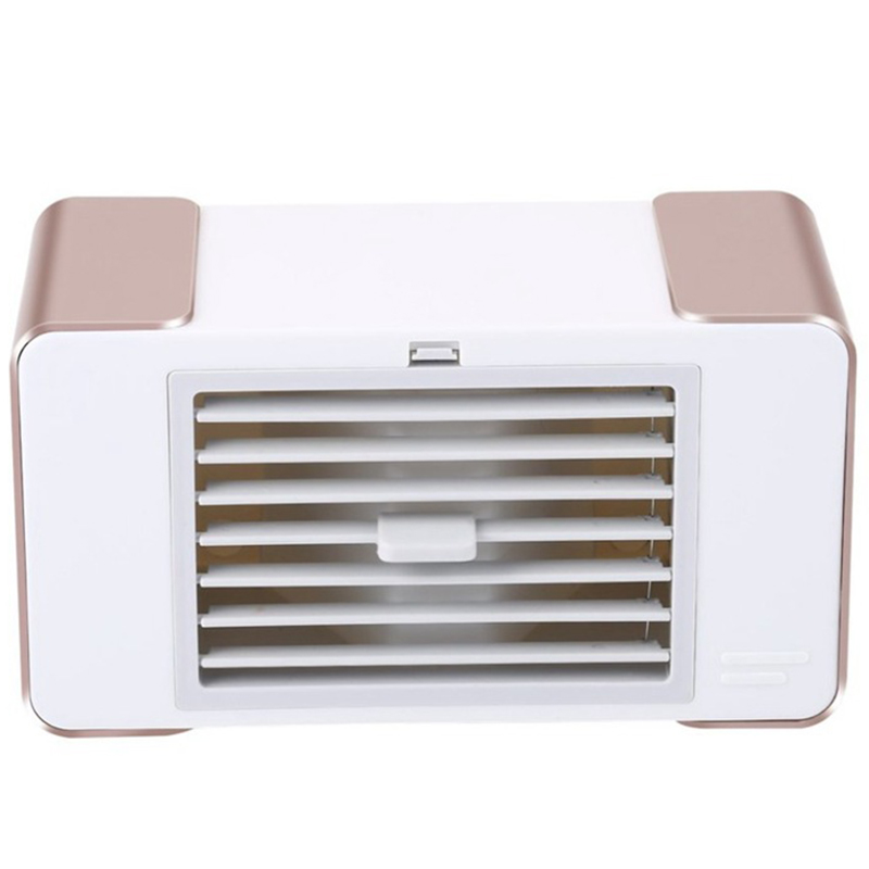 EAS Usb Mini Fan Led Portable Air Conditioner Desktop Air Cooler Fan Summer Cooler With Usb Table Lamp|Fans| |  - title=